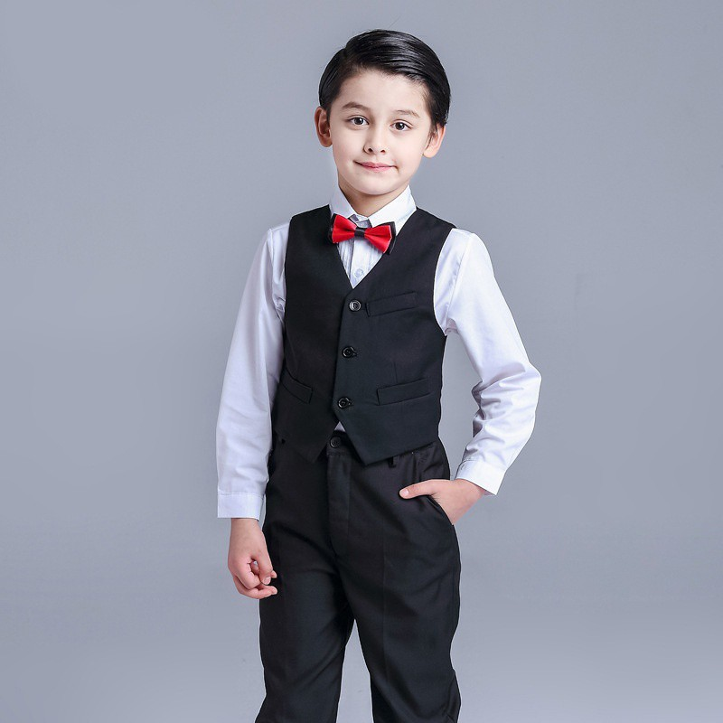 052f06a3c 4 pcs Baby Kids Toddler Boys Clothes Wedding Party Outfit Sets Christening  Coat, Babies & Kids, Boys' Apparel, 8 to 12 Years on Carousell