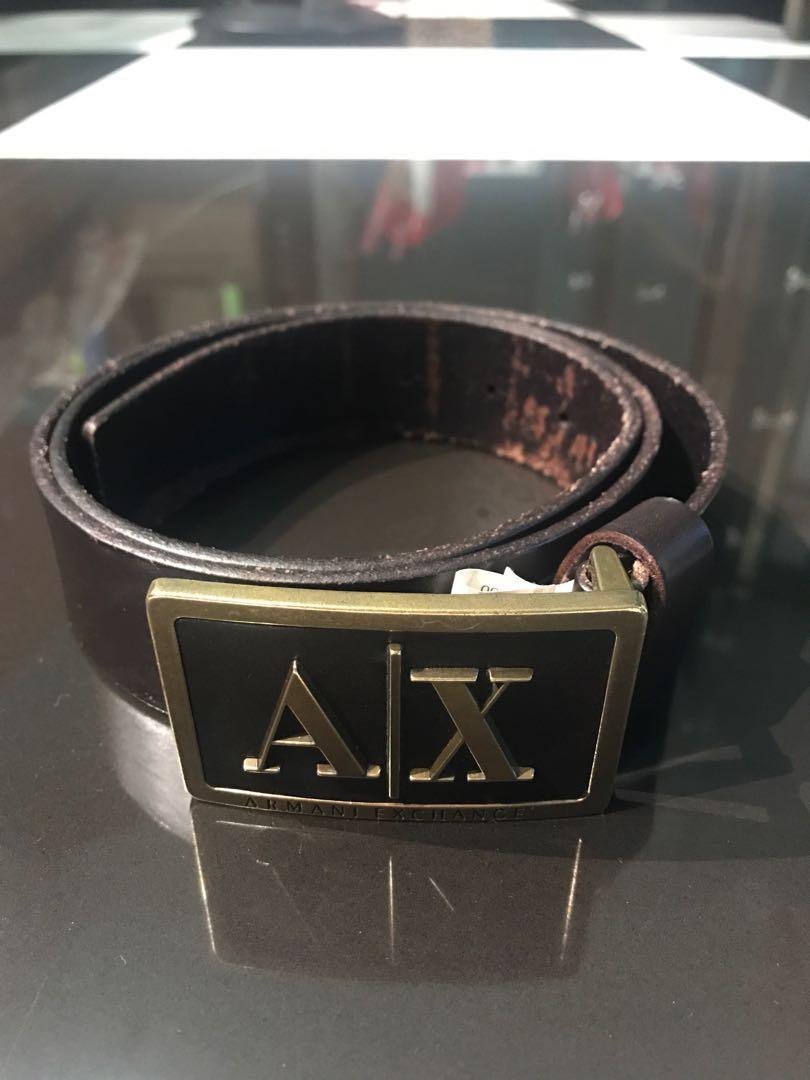 02a99f22 Armani Exchange Men's Belt, Men's Fashion, Accessories, Belts on ...