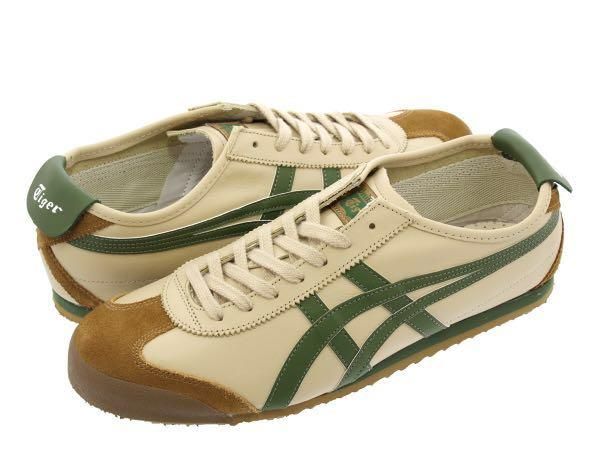 finest selection c4fba 4f3ee Authentic Onitsuka Tiger Mexico 66 [Khaki Brown & Green ...