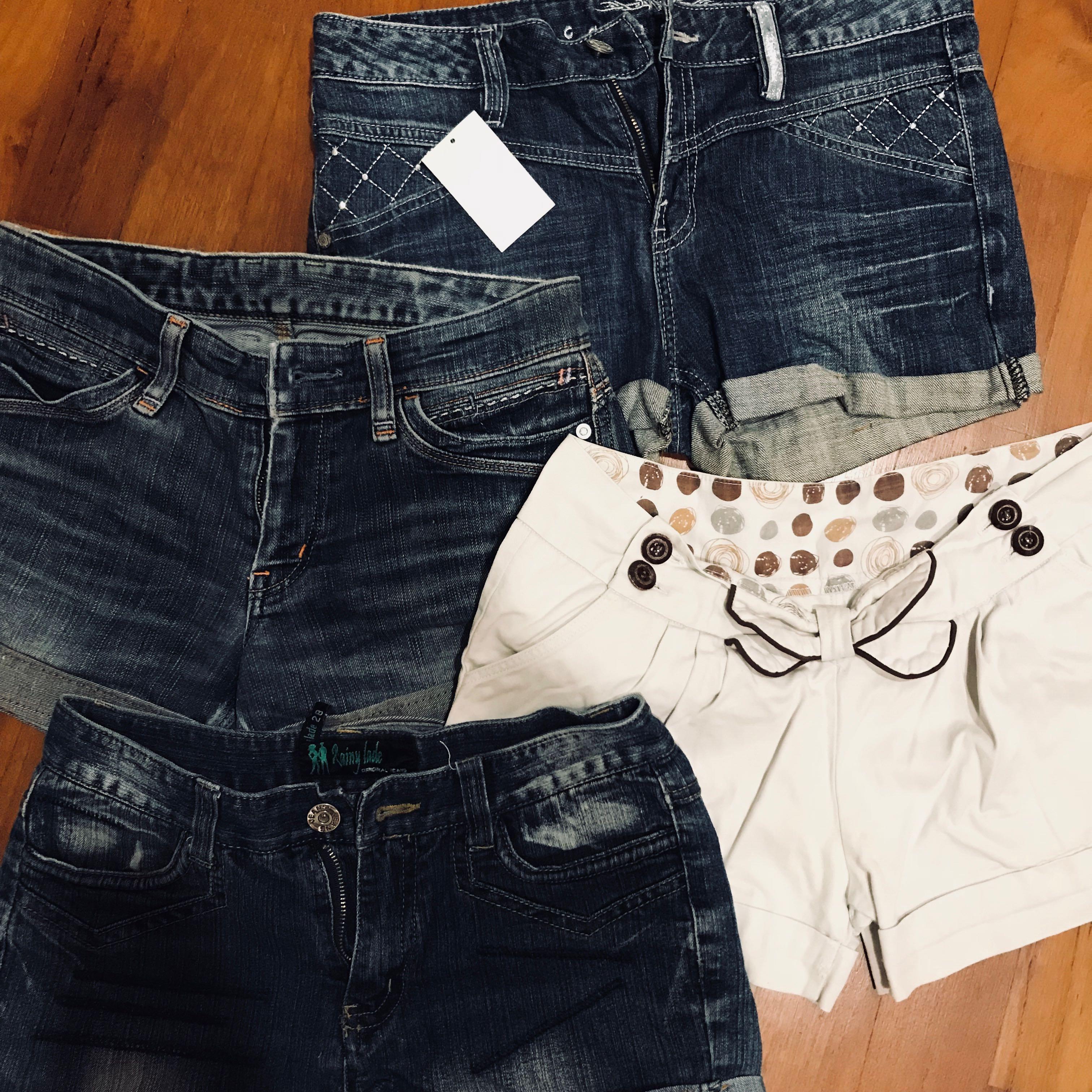 7aed6ac615 basic denim shorts, Women's Fashion, Clothes, Pants, Jeans & Shorts ...