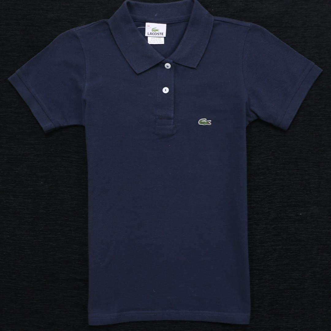 d1fb581d1d87c BEST DEAL  High Quality Lacoste LCT8201 Girl s Polo Tee!!