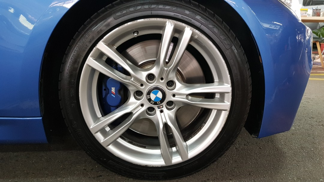 Bmw F30 18 Inch Original M Performance Rims With Tire Car