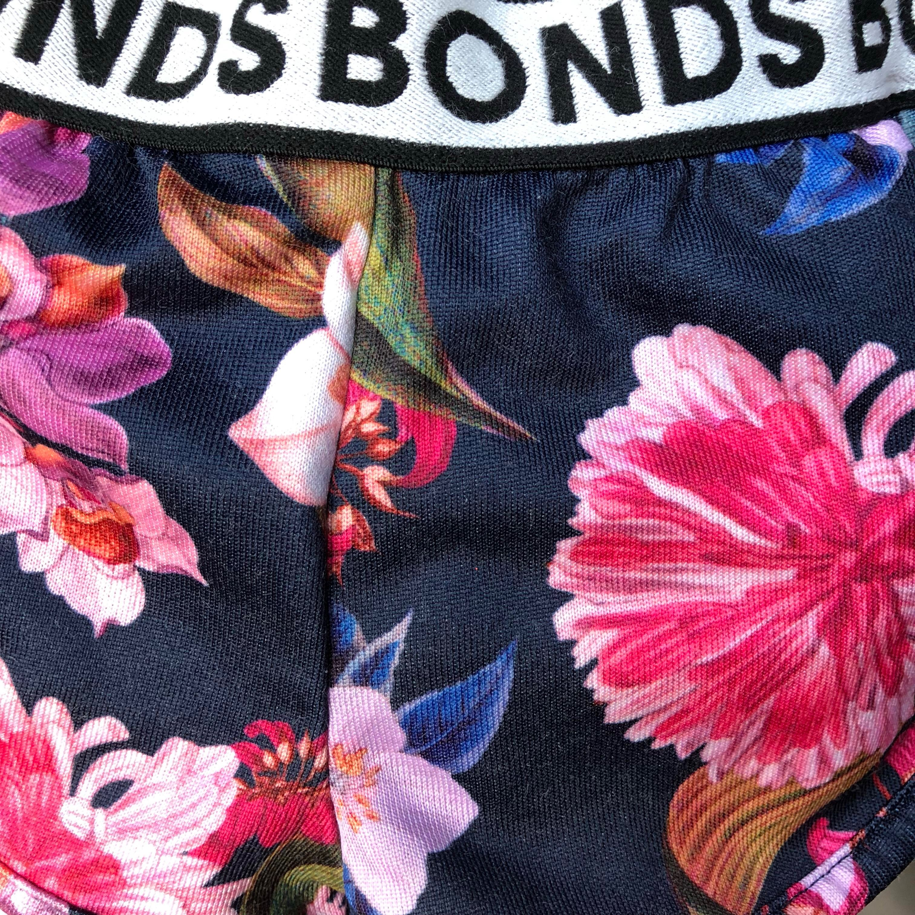 bf1f1d2ad5 Bonds Girls' Floral Jersey Shorts