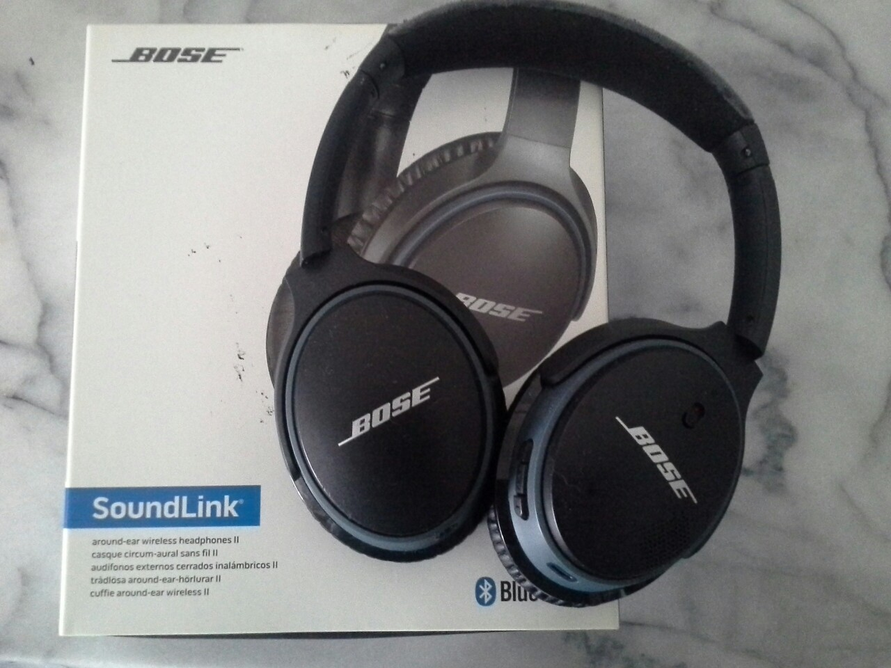 Bose Sound Link Bluetooth Headphones Electronics Audio On Carousell