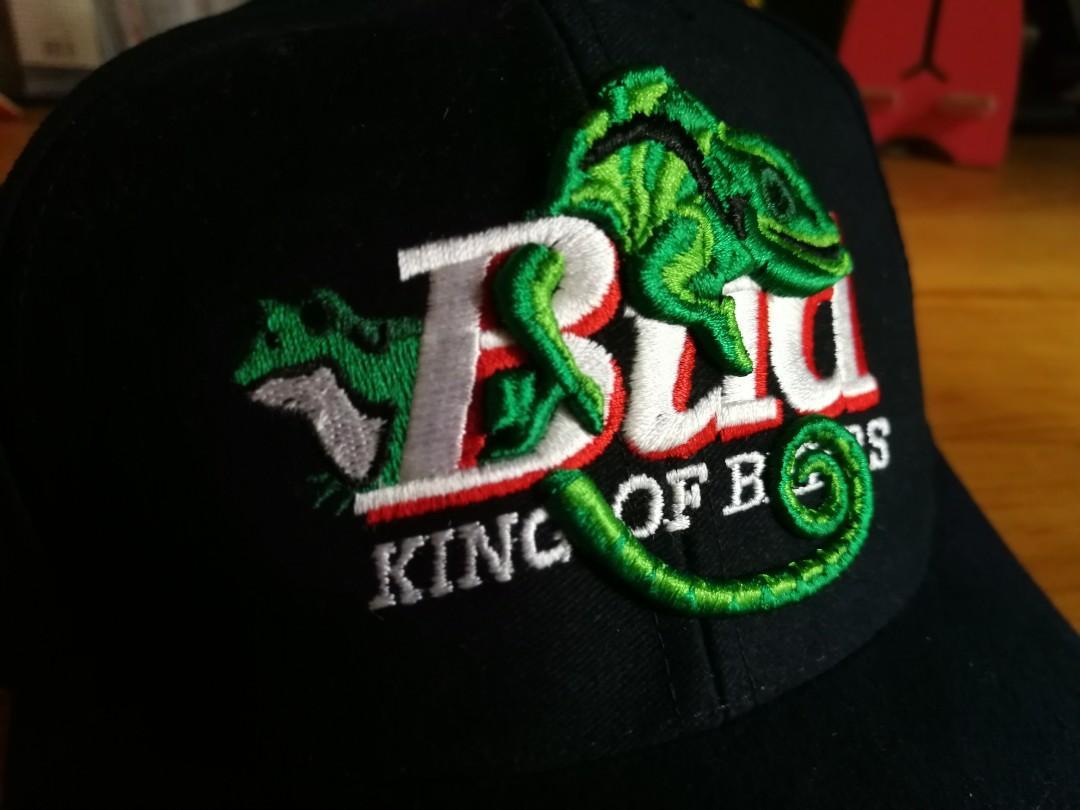 Bud Beer 變色龍 cap帽