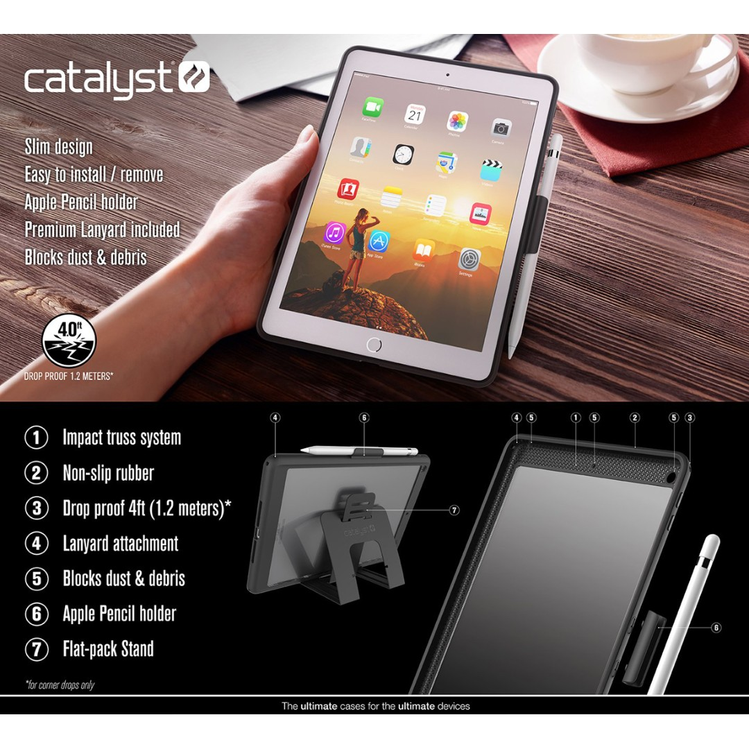 low priced d7c7b a9dcd Catalyst Impact Protection iPad 9.7