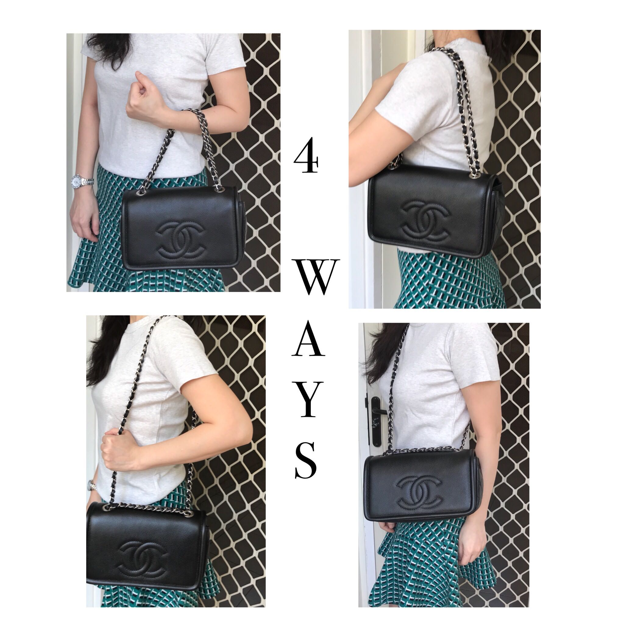 1ab2e6e3246c Chanel flap caviar shw # 15, Luxury, Bags & Wallets, Handbags on ...