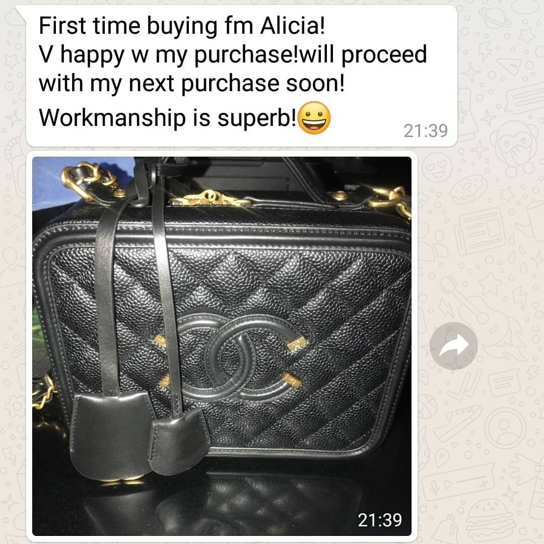 ae18a7ab15a7 Chanel vanity case, Women's Fashion, Bags & Wallets, Handbags on ...
