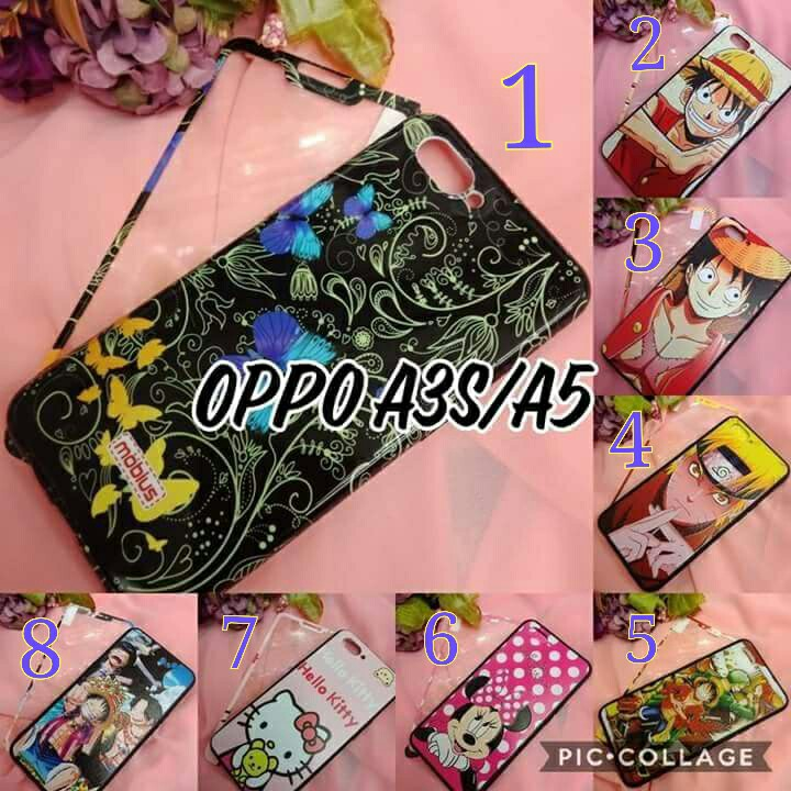 Hello Kitty Phone Case For Oppo A3s - hello kitty