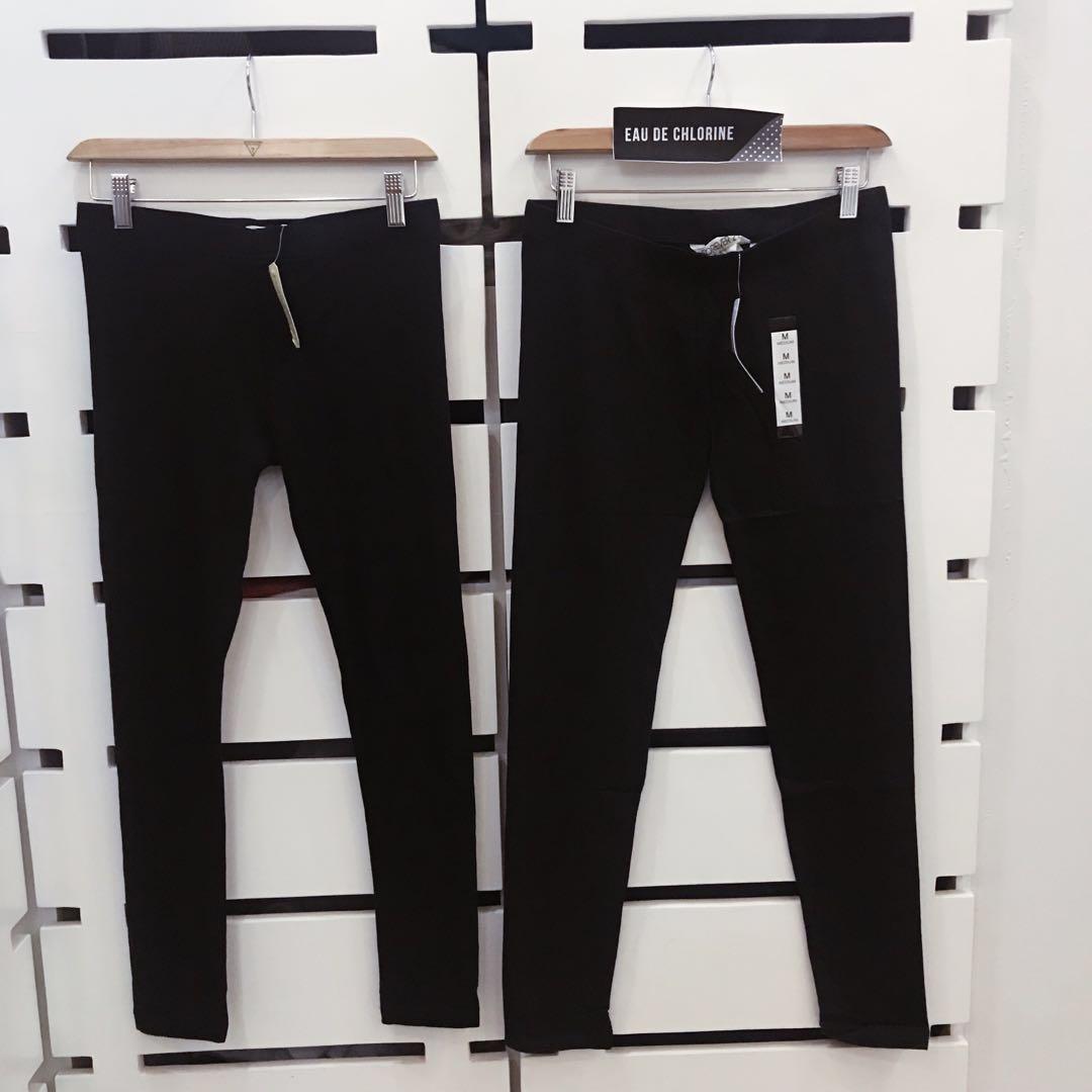 30583309992a4 Cotton Black Leggings Black Leggings, Women's Fashion, Clothes ...