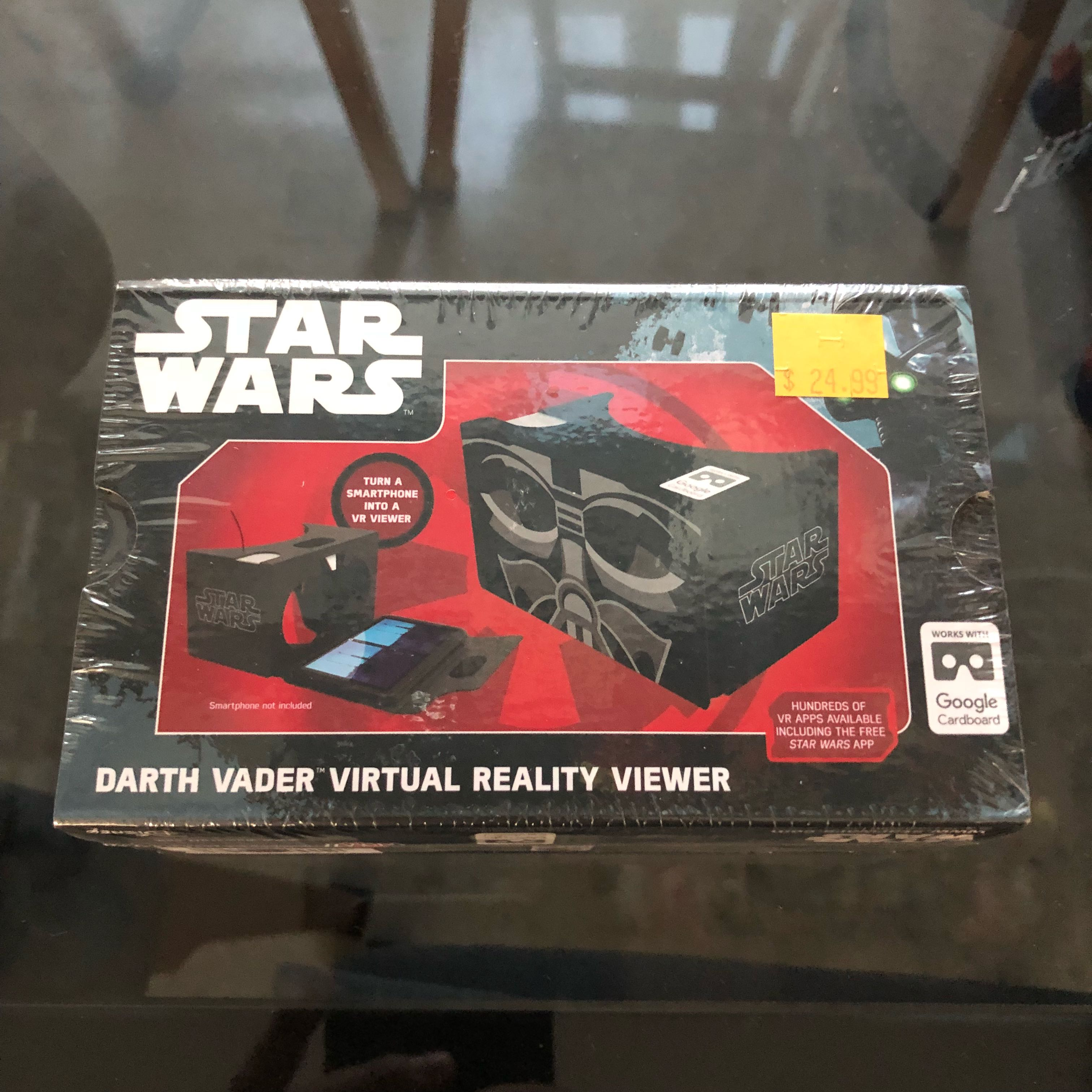 Darth Vader Star Wars Virtual Reality Viewer Google