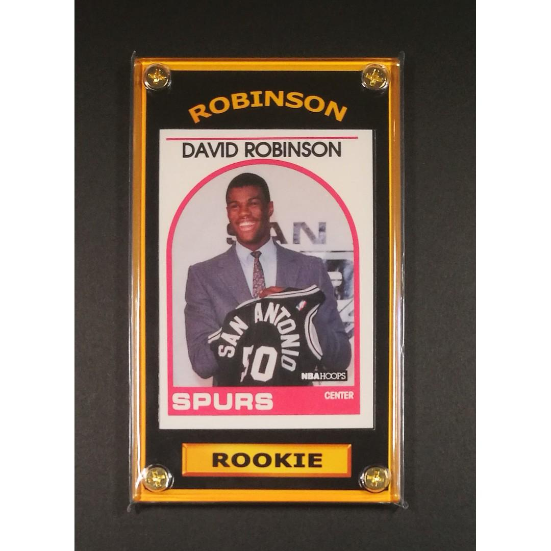 David Robinson Rookie Sports Card Nba Champion On Carousell