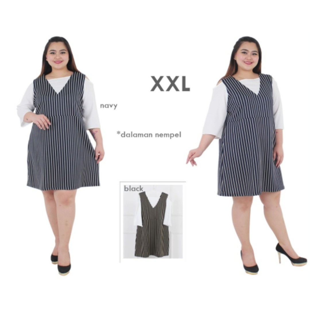 Dress Jumbo Xxl Xxxl Ld128 Dress Bigsize Dress Pesta Jumbo Dress