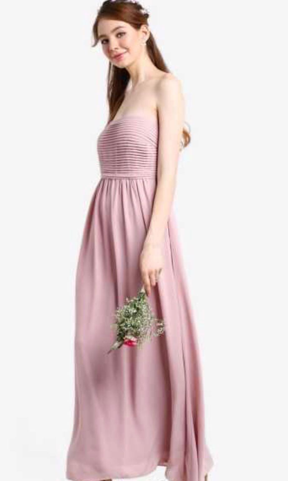 d45cf6e234c Dusty Pink Maxi Bridesmaid Dresses - Data Dynamic AG