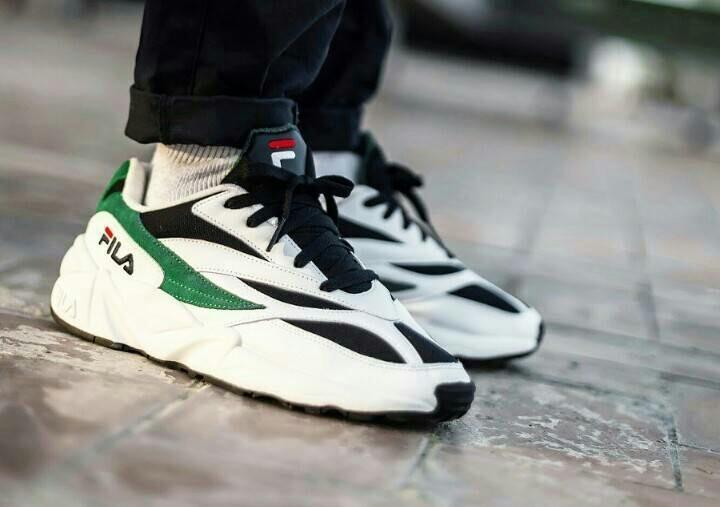 Fila Venom 94 Green for Man, Men's Fashion, Men's Footwear ...