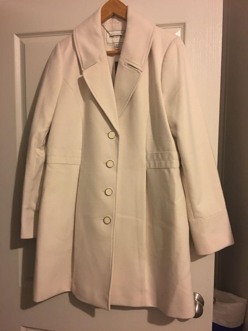 FOREVER NEW cream coat