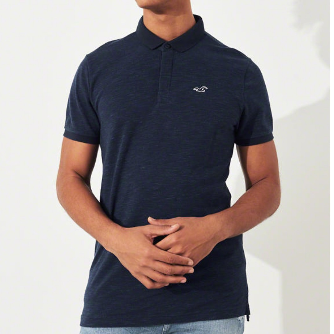 7270f7f2 Hollister Polo Shirt, Men's Fashion, Clothes, Tops on Carousell