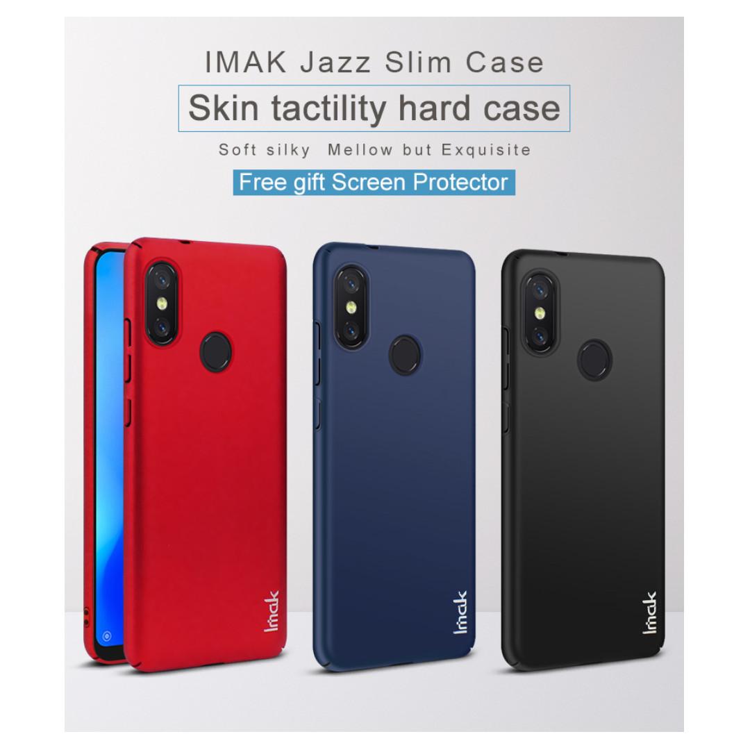 detailed look 10ebc c685a IMAK Full Cover Slim Hard Case Xiaomi A2 Lite / Redmi 6 Pro