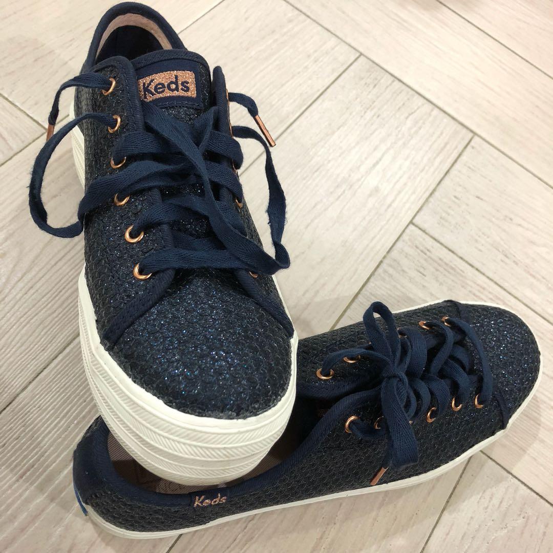 255389d51bdb Keds Triple Kick Glitter Sequin Sneakers , Women's Fashion, Shoes, Sneakers  on Carousell