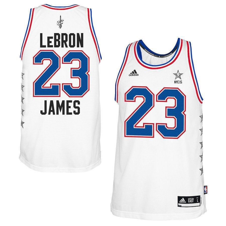 low priced 952e7 f8f5b LeBron James 2015 NBA Allstar Jersey, Sports, Sports Apparel ...