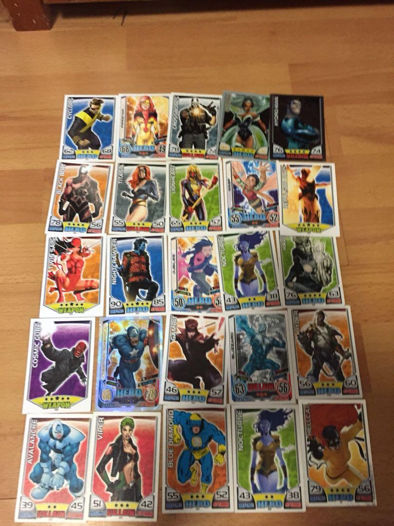 Marvel Universe Topps Hero Attax Trading Card Game, Toys