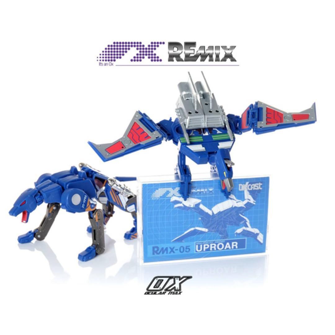 REmix Series RMX02 & RMX05 Catcall & Uproar 2 Pack (TFCon