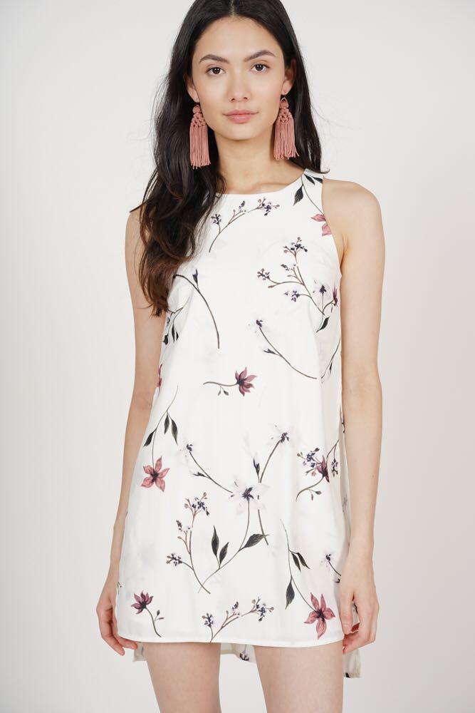 0895e013d657 MDS Derora Romper in White Floral