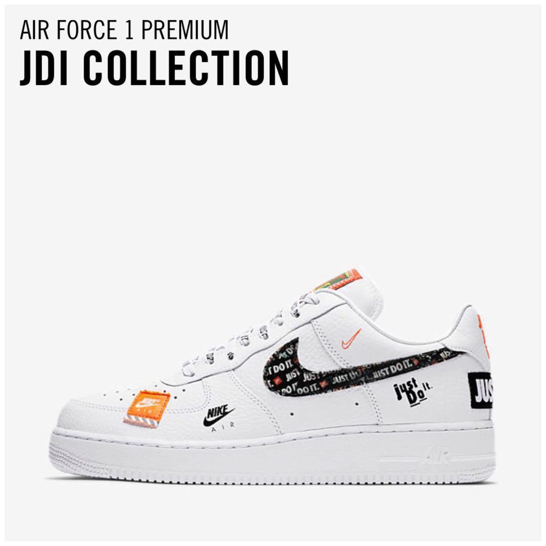 "852b499a4a Men's Nike Air Force 1 Low PREMIUM "" JUST DO IT "" collection ..."