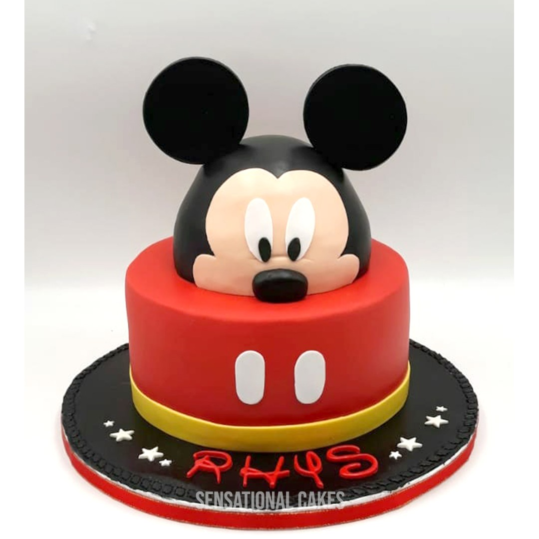 Mickey Mouse Birthday Cake For Girls