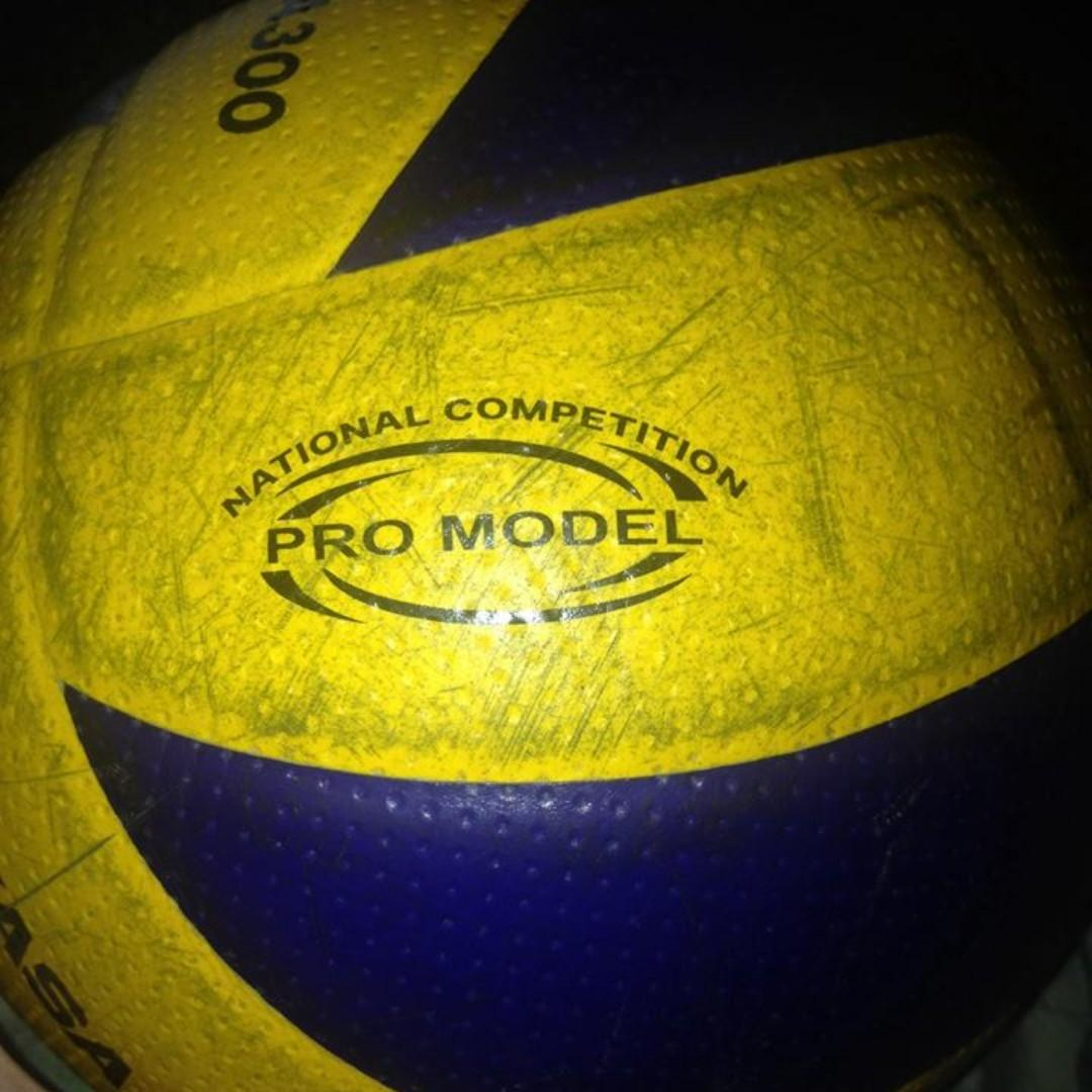 Mikasa Volleyball Mva300 Dimple Ball Sports Other Sports Equipment On Carousell