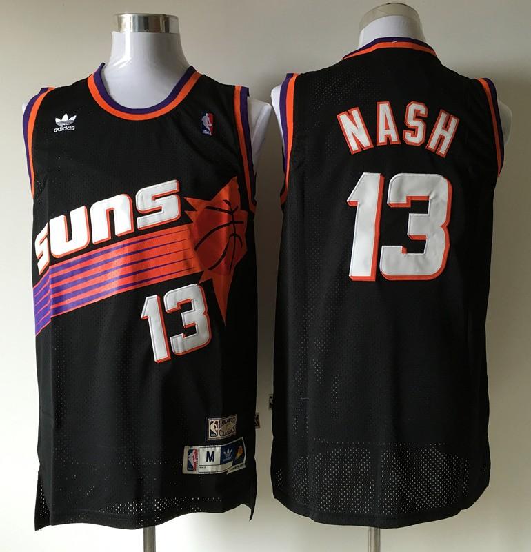 quality design f767c ee791 NBA Phoenix Suns Steve Nash Black Vintage Swingman Jersey ...