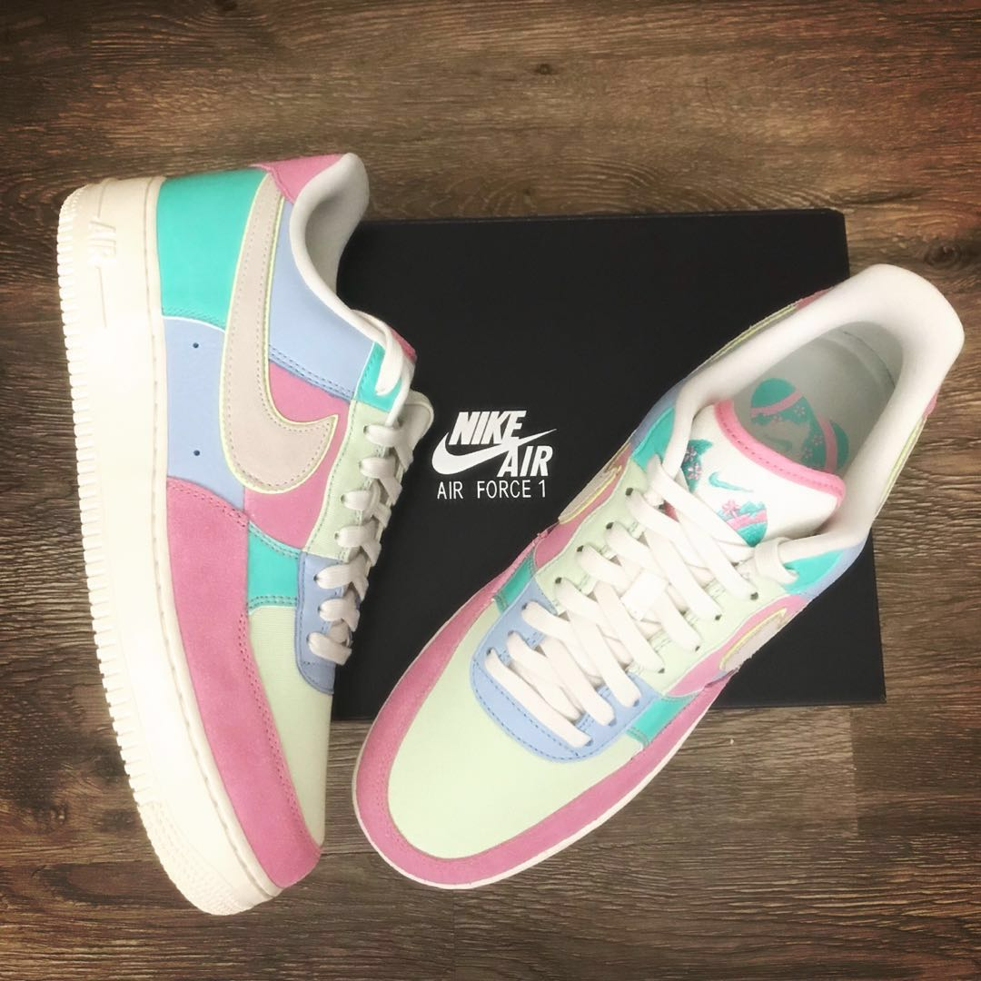 detailing c095f de8bb Nike Easter Air Force 1 AF1 US10.5, Mens Fashion, Footwear, Sneakers on  Carousell