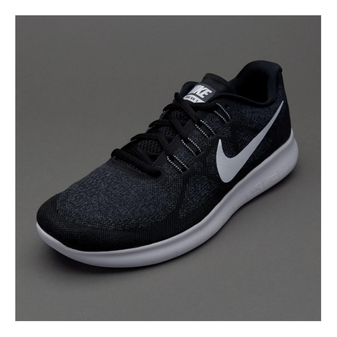 best cheap d3ee0 c4e07 Nike Free RN 2017 - Black (BRAND NEW!) EURO 42, Men s Fashion ...