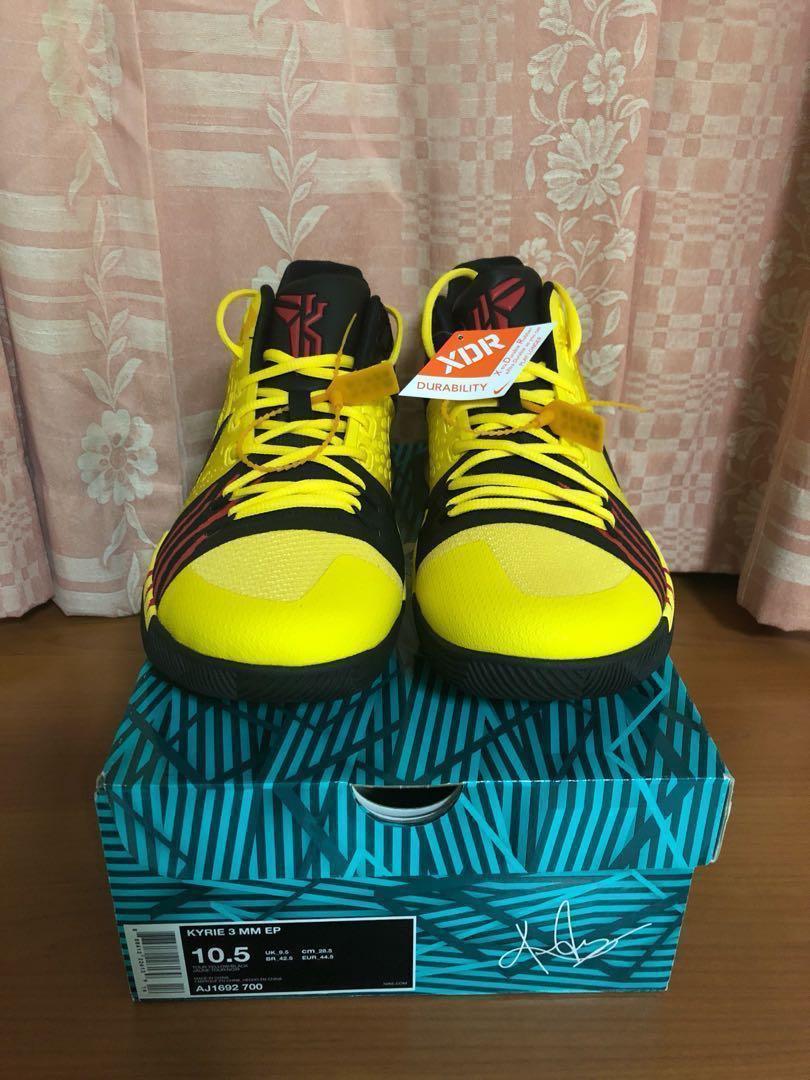 "reputable site 6c2bc f7327 Nike Kyrie 3 Bruce Lee ""Mamba Mentality"", Men's Fashion ..."
