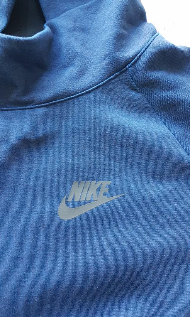 Nike sportswear tech fleece kids xl short sleeve hoodie