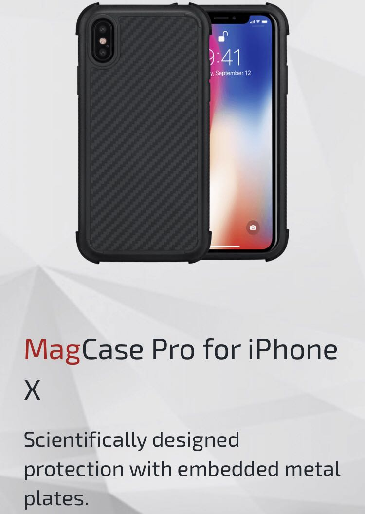 reputable site 60bac f46fd Pitaka MagCase Pro for iPhone XS or X