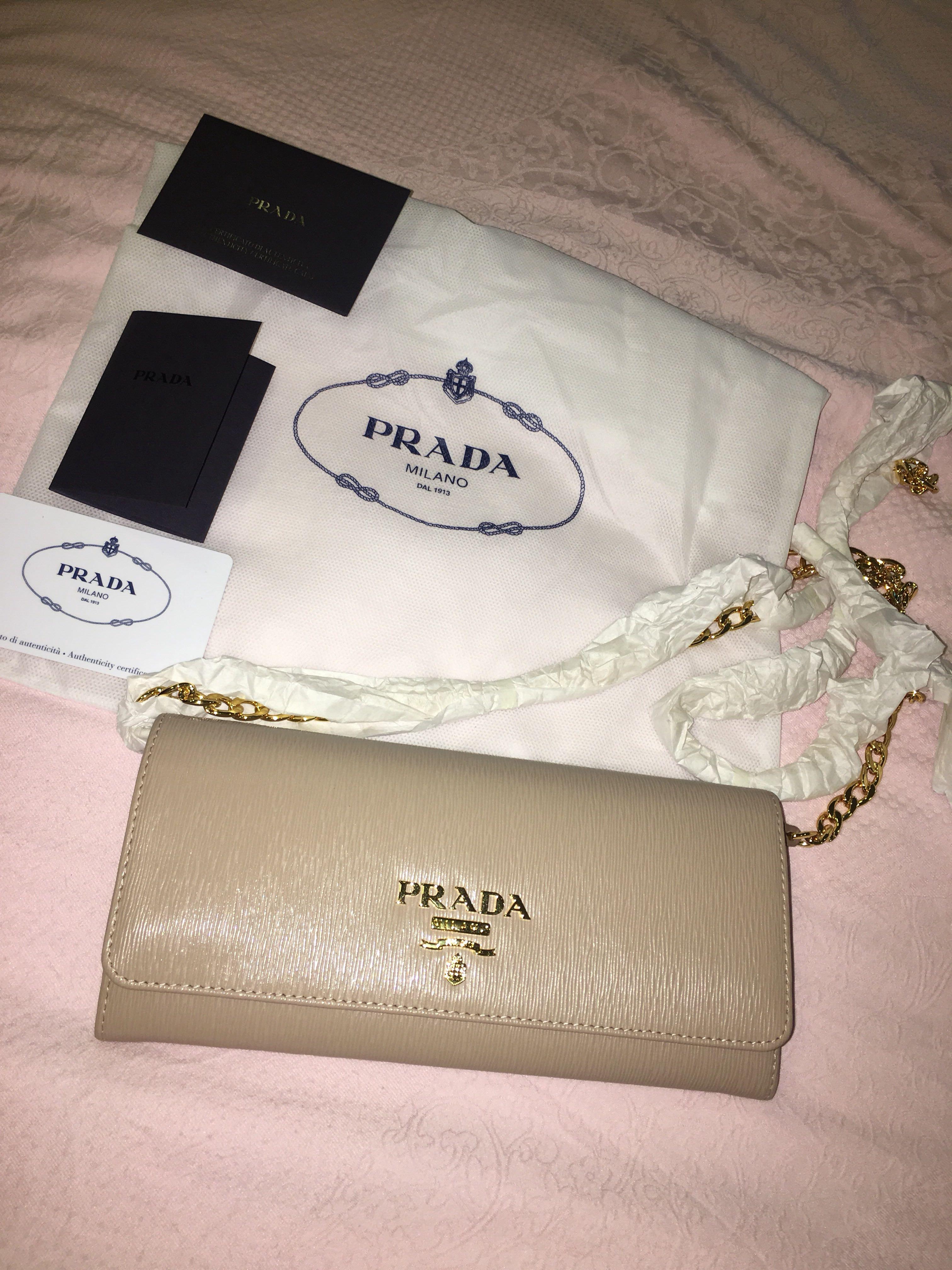 66120d85bb470d Prada Vitello Move 1BP290 Cammeo, Women's Fashion, Bags & Wallets ...