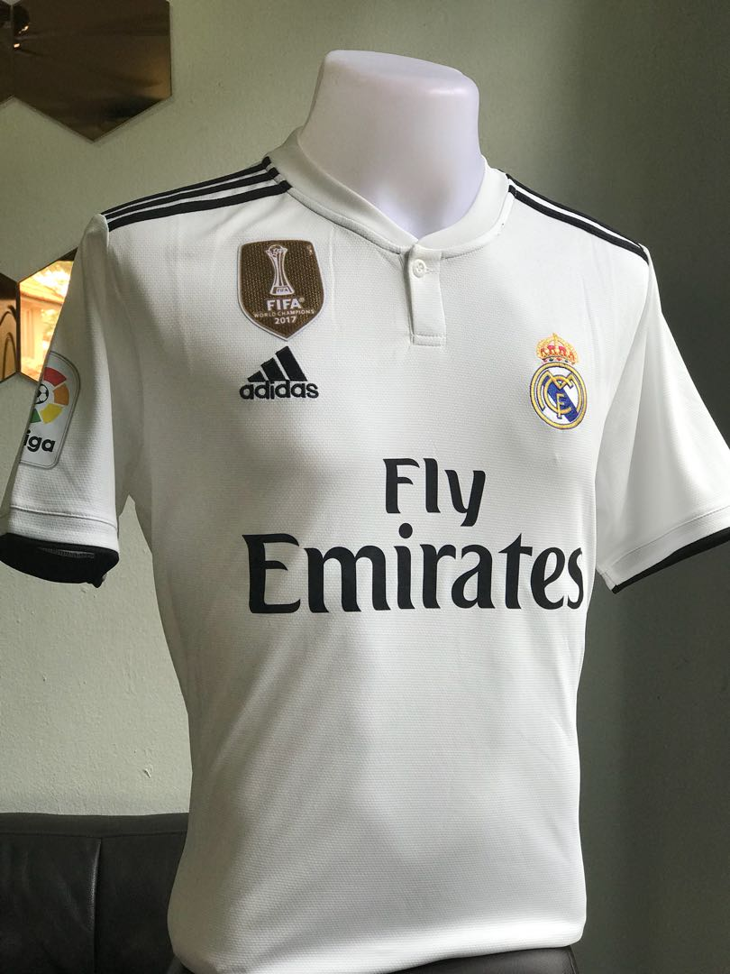 e89567512 Real Madrid Jersey 18 19