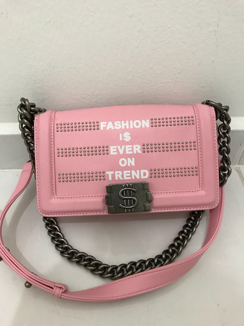 1c8fe79d1b3b Saint Hk crossbody bag, Women's Fashion, Bags & Wallets on Carousell