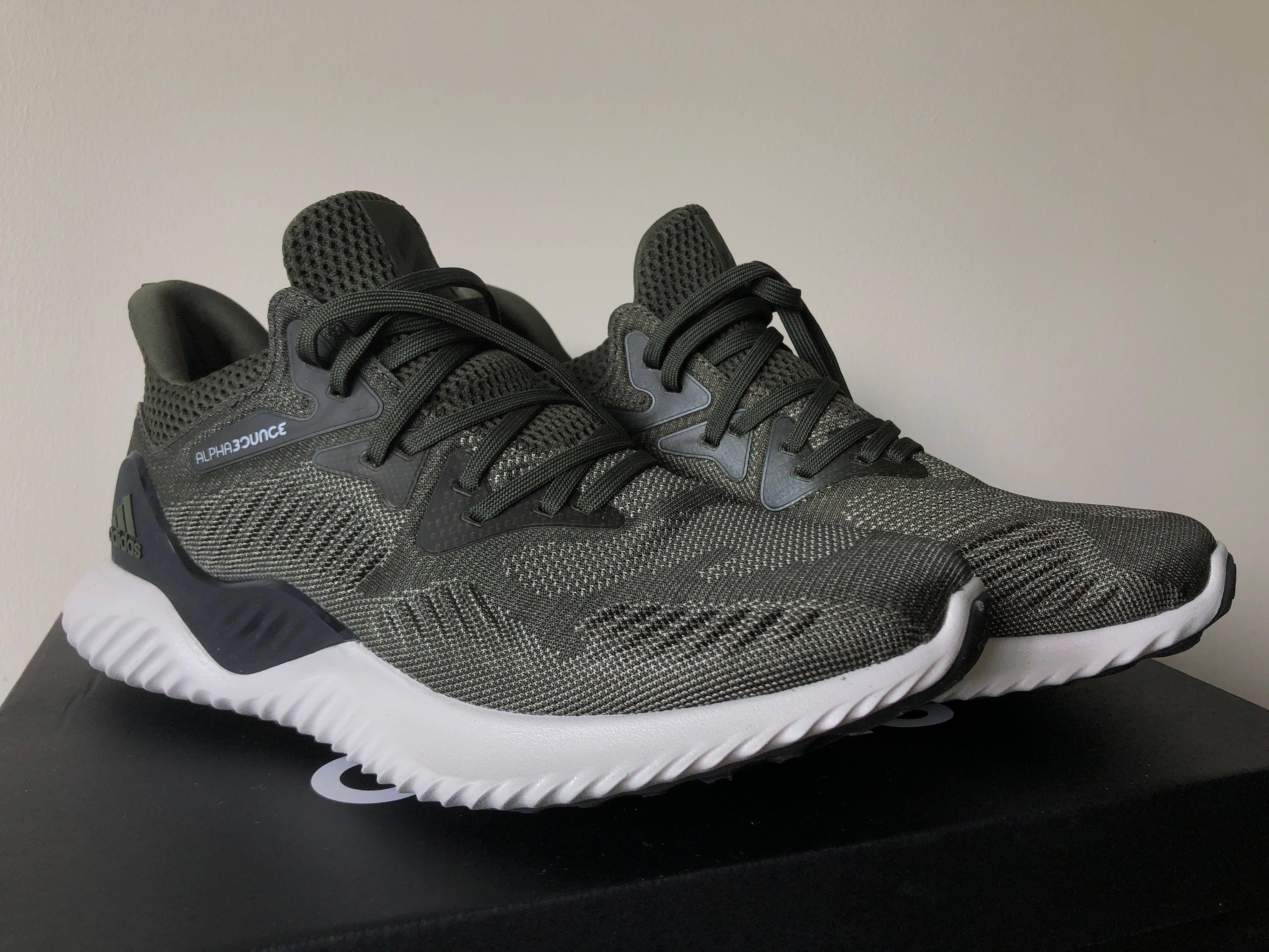 Adidas Alphabounce Beyond Army Green