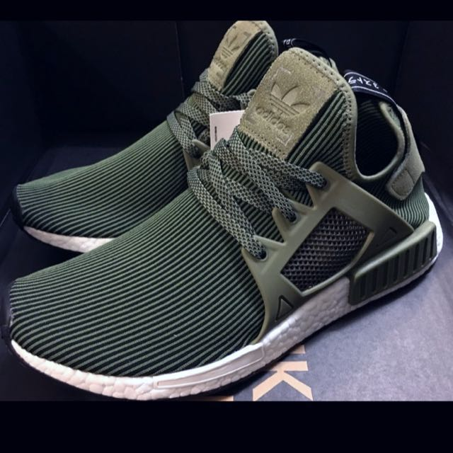 c84c1394b3cfa 💥SALE💥US10 Adidas NMD XR1 Primeknits Olive Green on Carousell