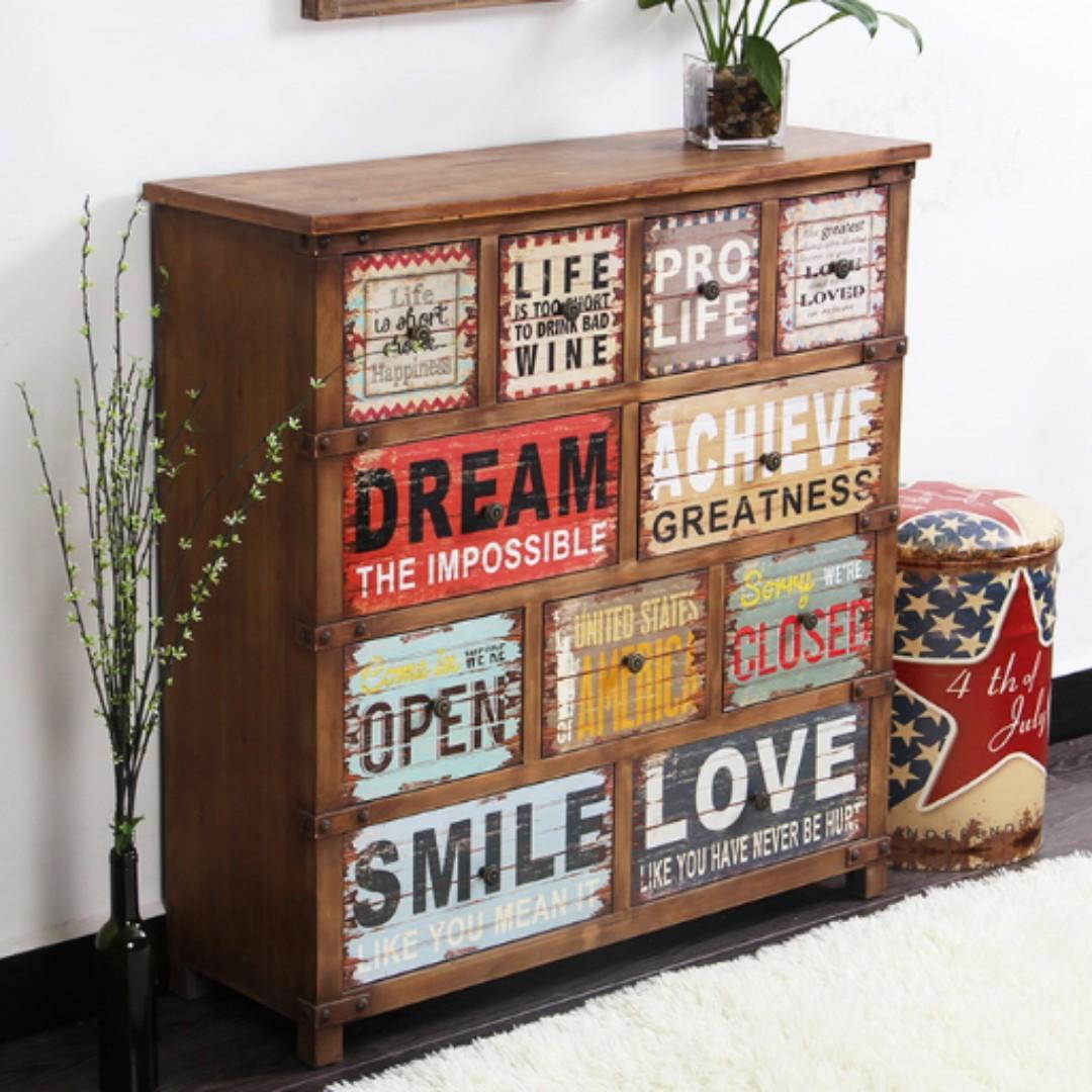 Solid Wood CHest of Drawer