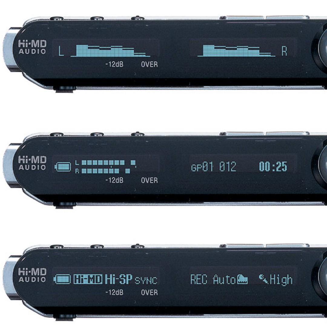 Sony MZ-RH1 MD 液晶屏