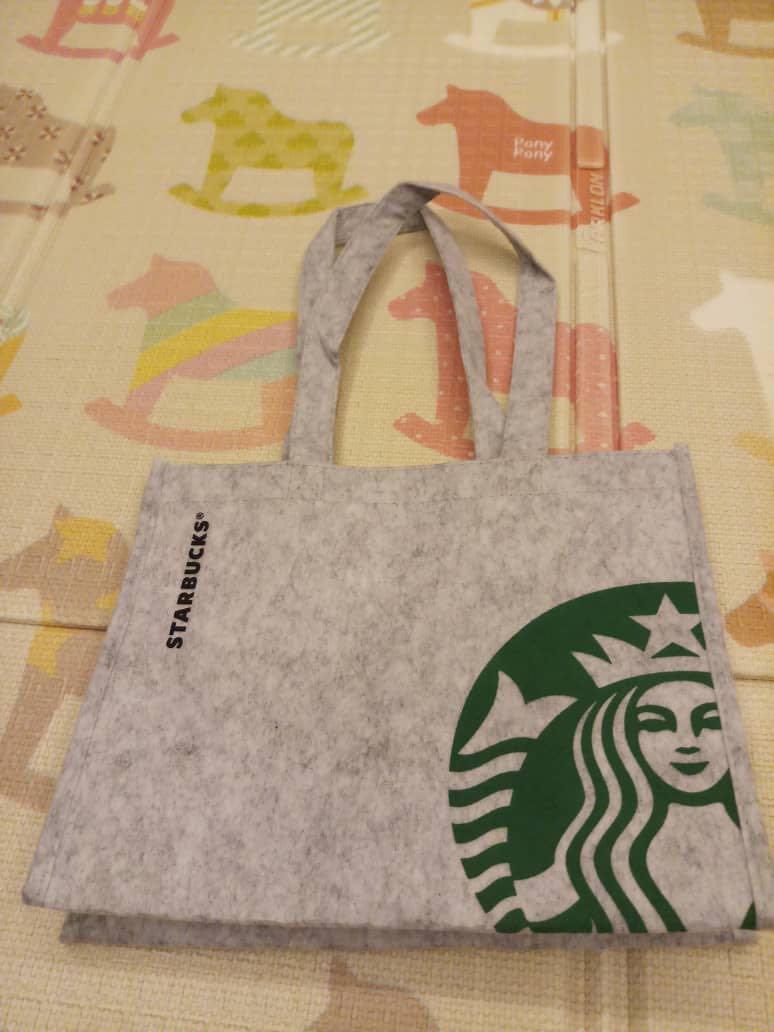 Starbuck 20th anniversary tote bag