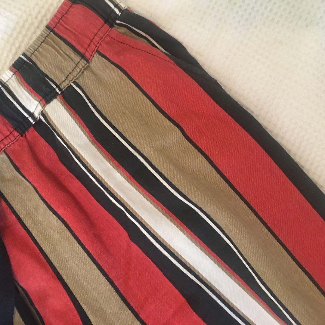 Strip flared pants 💃🏻
