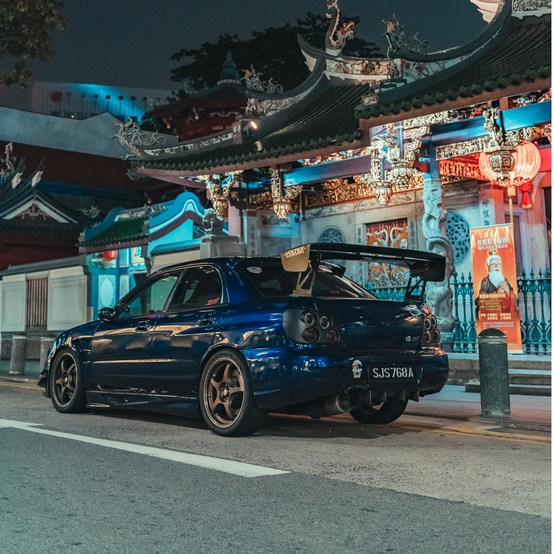 Subaru WRX STI 2.5M for rent