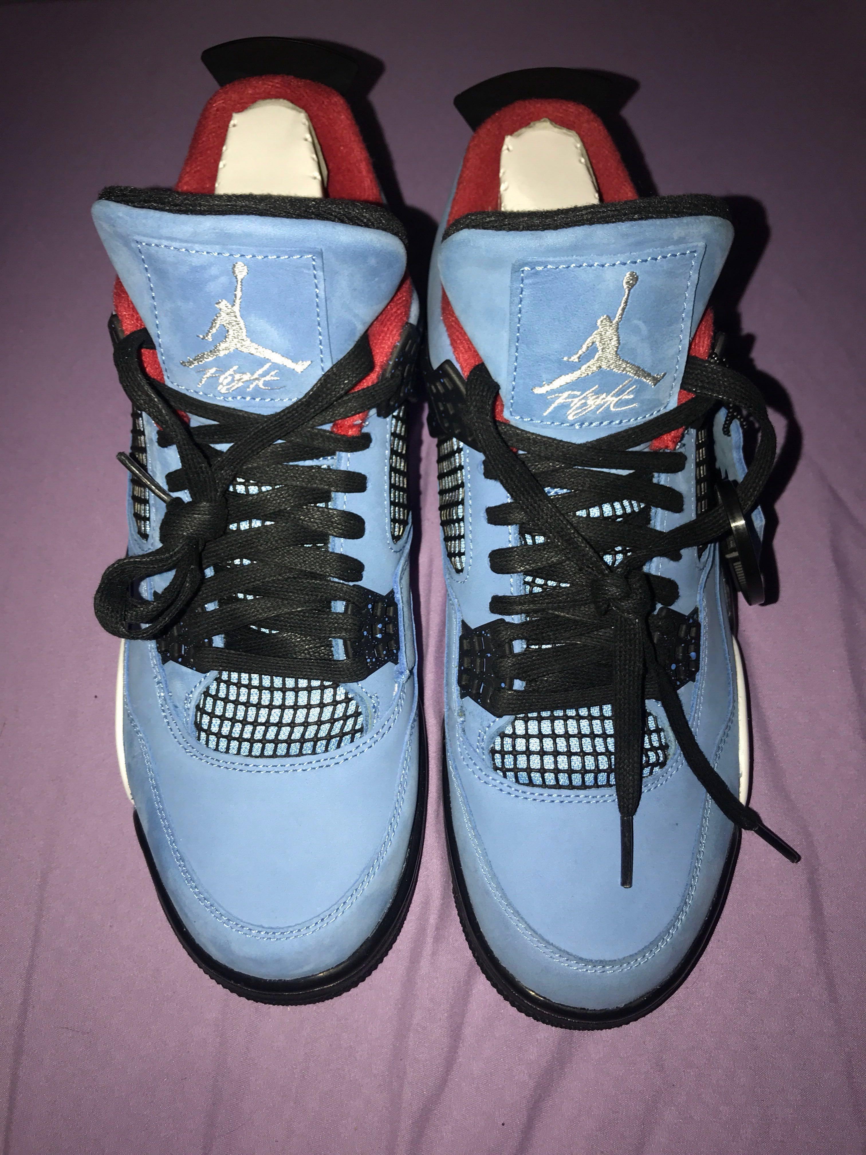 61f21232abb Travis Scott Air Jordans 4 Retro (Cactus Jack), Men's Fashion, Footwear,  Sneakers on Carousell