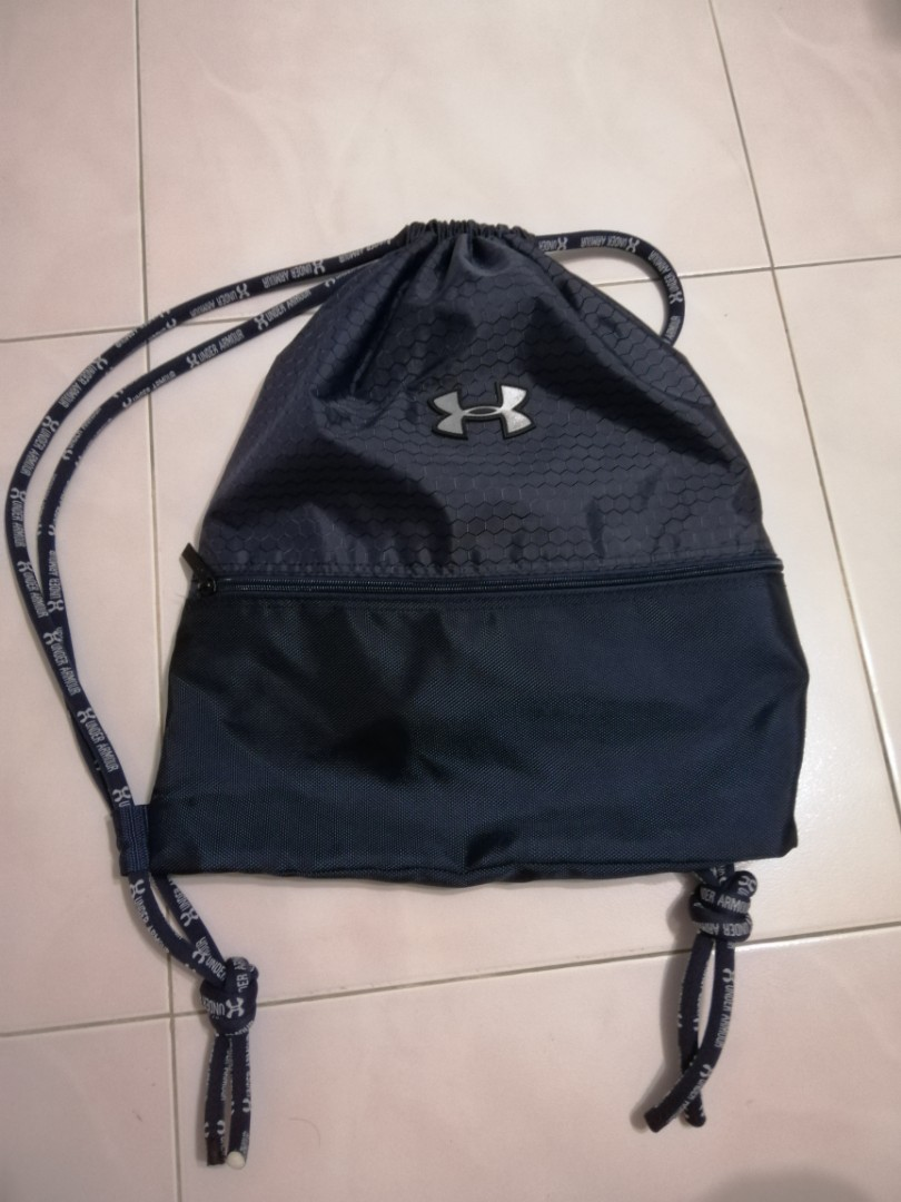 UA Under Armour Drawstring Bag, Everything Else on Carousell b7d46ca00d