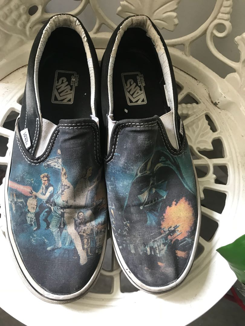 ddcd78824b Vans Shoes Star Wars US 10 size slip ons