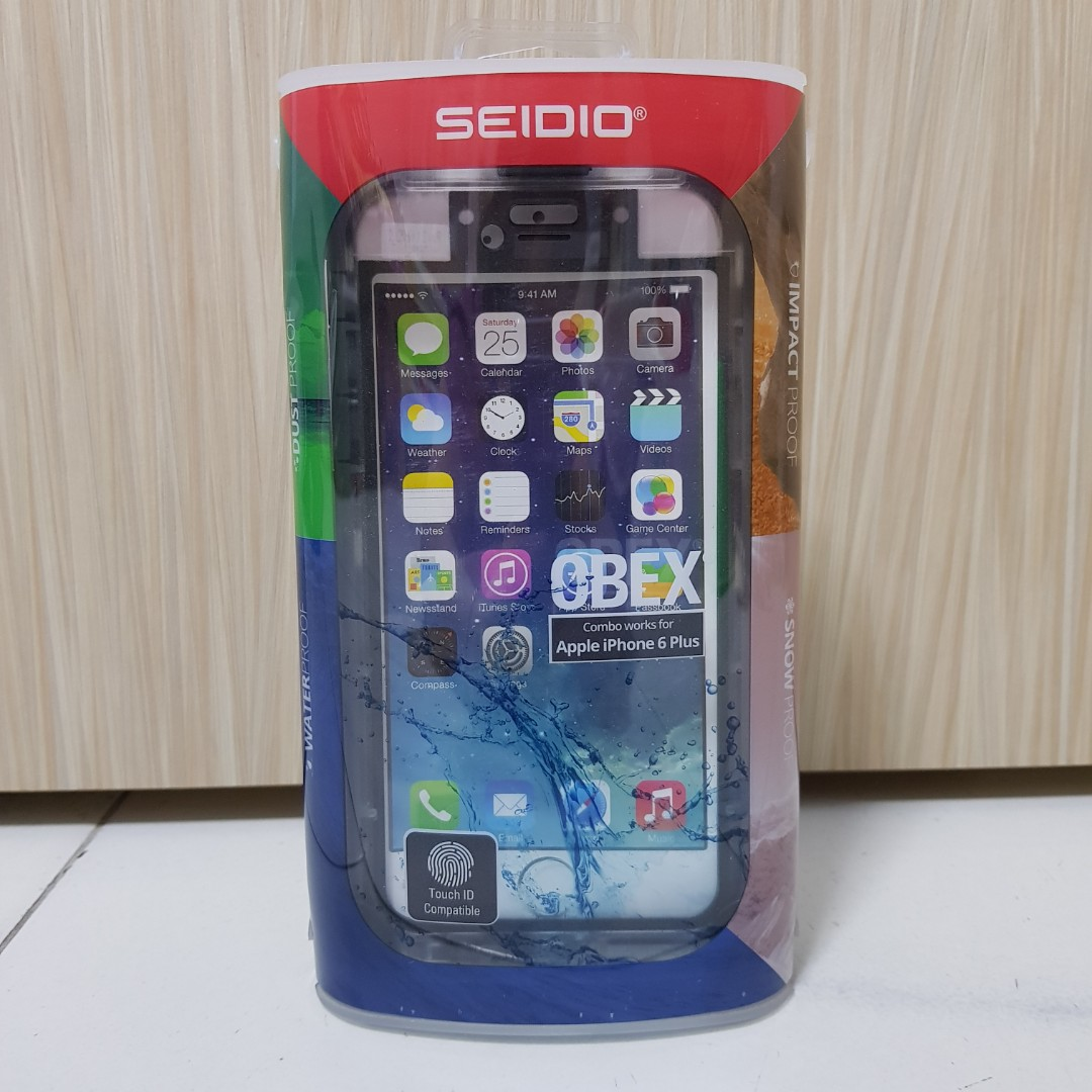 new style b1e02 974b1 Seidio OBEX Waterproof Case (IPhone 6 Plus)
